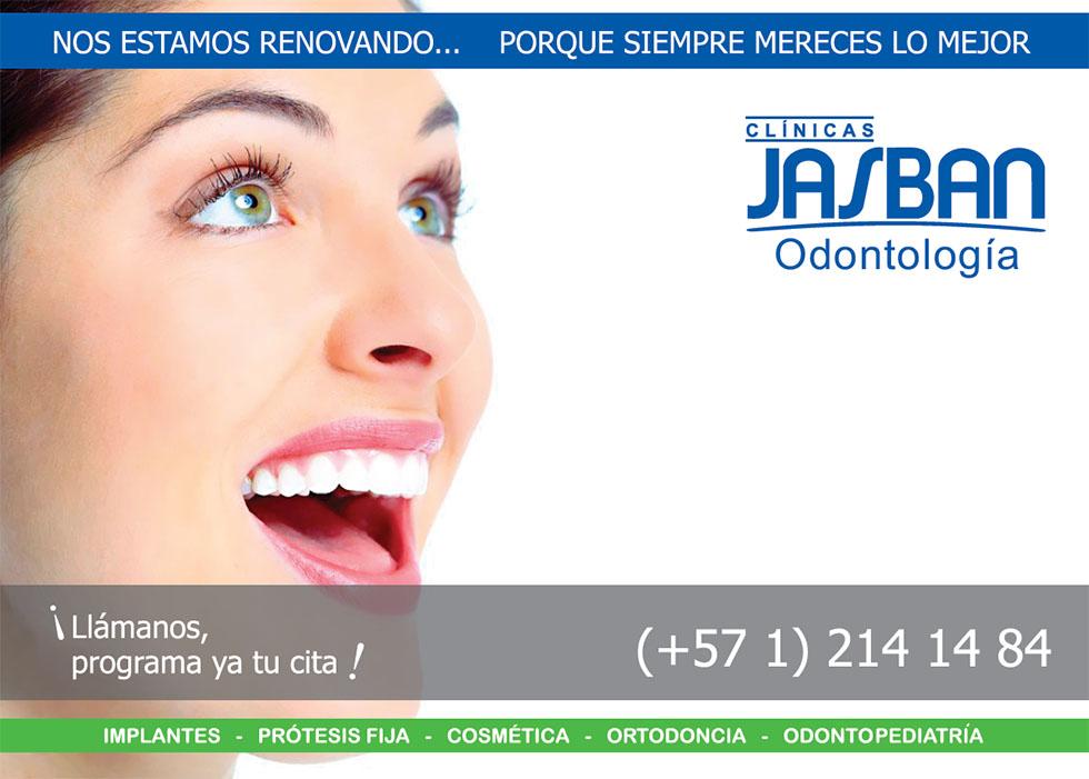 Jasban Odontologia Estamos en Mantenimiento